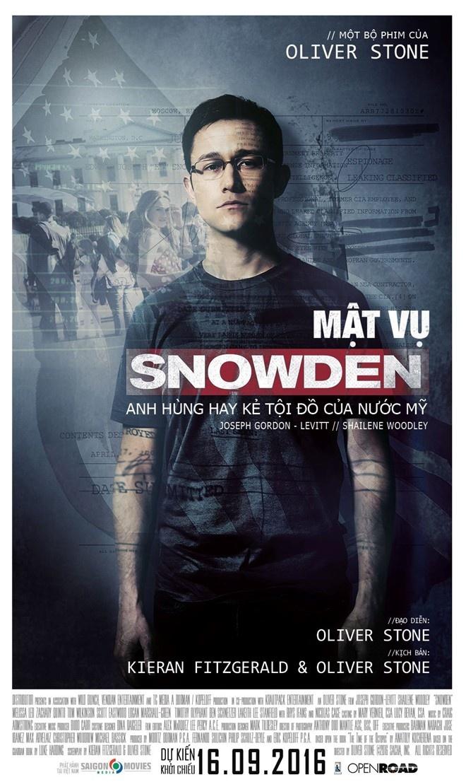'Snowden': Ke phan boi nuoc My khien ca the gioi rung dong hinh anh 1