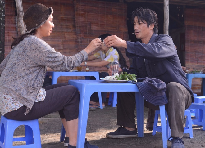 Dustin Nguyen - Bebe Pham mang 'Trung so' toi du LHP Kim Ke hinh anh 1