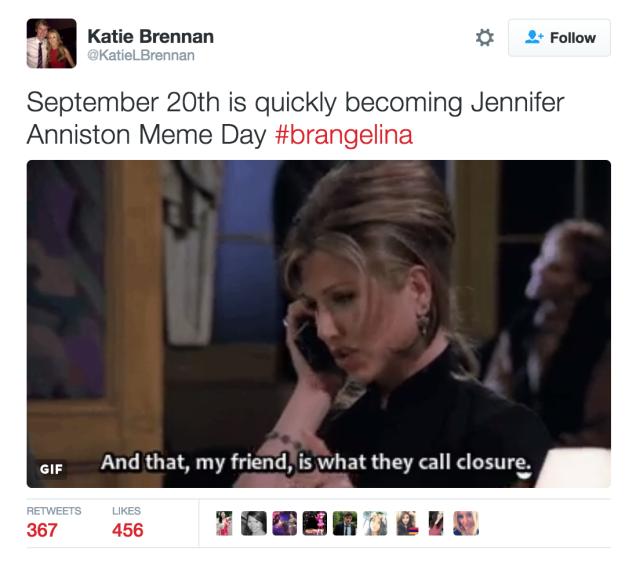 Brangelina do vo, cu dan mang goi ten Jennifer Aniston hinh anh 8