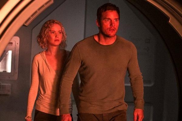 Phim moi cua Jennifer Lawrence & Chris Pratt he lo trailer hinh anh 2