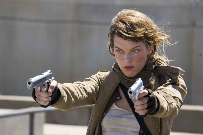 Milla Jovovich trong Resident Evil 6 anh 3
