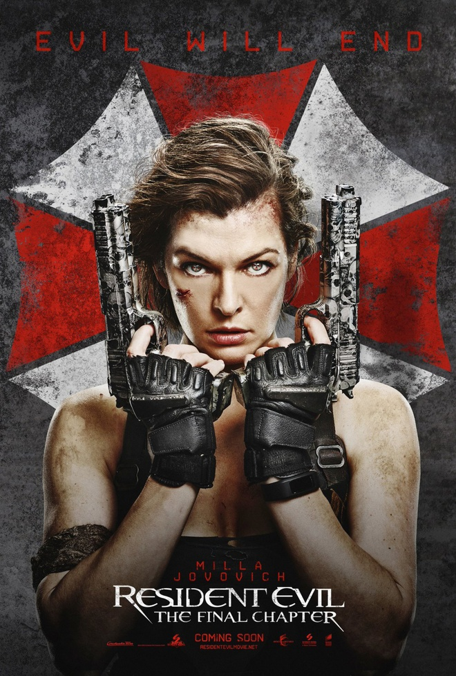 Milla Jovovich trong Resident Evil 6 anh 1