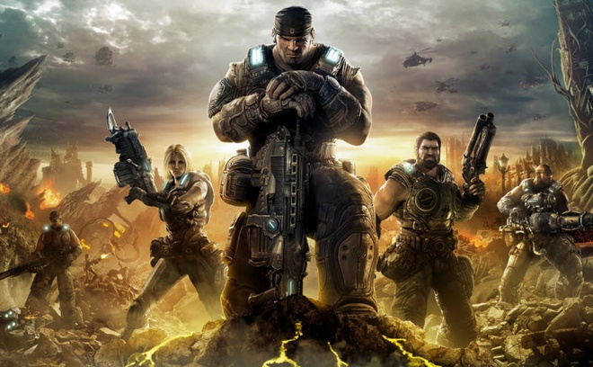 Loat tro choi dinh dam 'Gears of War' len phim hinh anh 1