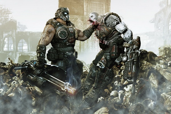 Loat tro choi dinh dam 'Gears of War' len phim hinh anh