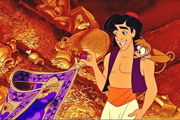 Phim hoat hinh 'Aladdin' se co phien ban nguoi dong hinh anh