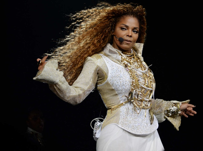 Janet Jackson la ung vien Dai sanh Danh vong Rock & Roll hinh anh
