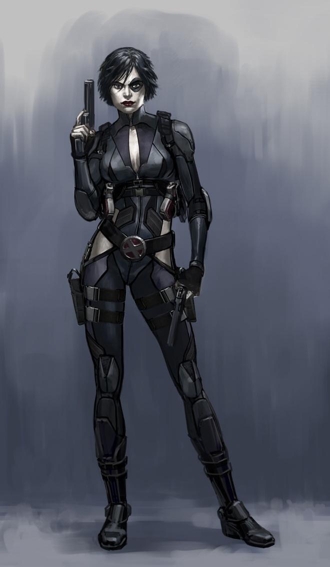 Hang loat my nhan tranh vai di nhan moi trong 'Deadpool 2' hinh anh 1
