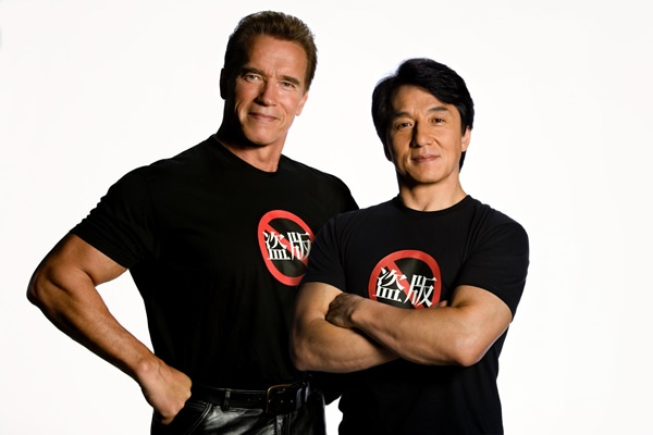 Thanh Long tai ngo Arnold Schwarzenegger trong phim cua Nga hinh anh 1