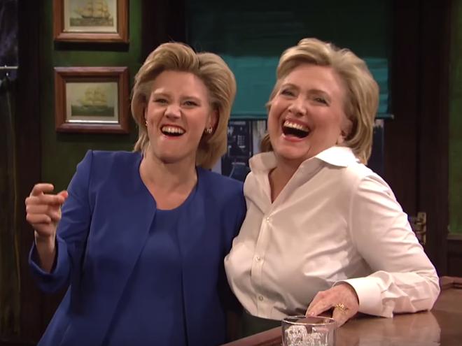 Nu danh hai hoa trang thanh Hillary Clinton hat 'Hallelujah' hinh anh 1
