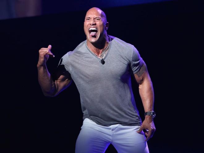 The Rock va nhung ngoi sao dung sau phim hoat hinh 'Moana' hinh anh 4