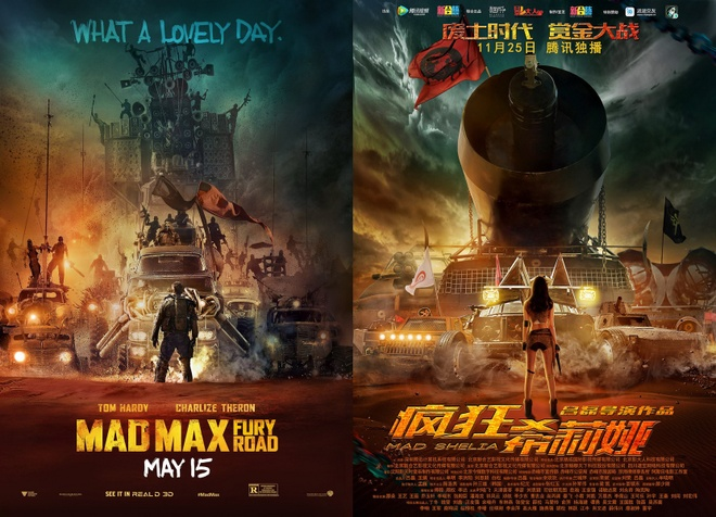 Trung Quoc nhai phim Mad Max anh 1