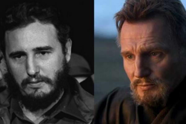 Fan keu goi sao 'Taken' dong phim ve lanh tu Fidel Castro hinh anh