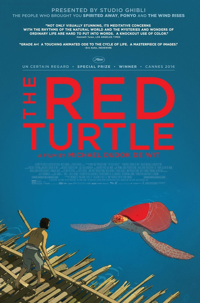 review phim Red Turtle anh 1