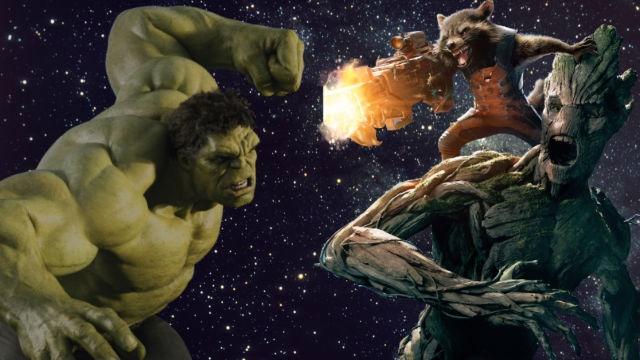 Groot dau Hulk anh 1