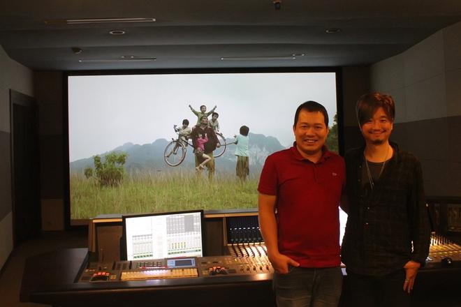 Nhac si Han Quoc khoc khi xem phim Viet 'Cha cong con' hinh anh 1