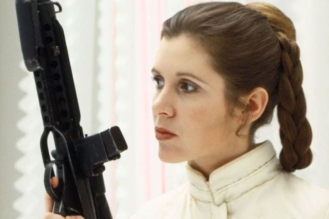 Nhung khoanh khac dep cua Cong chua Leia trong 'Star Wars' hinh anh