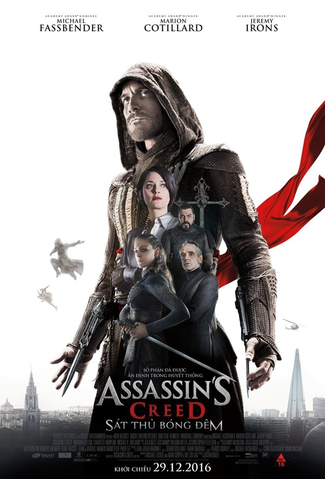 review phim Assassin's Creed anh 1