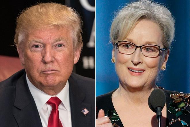 Donald Trump bi to 'tien hau bat nhat' ve Meryl Streep hinh anh