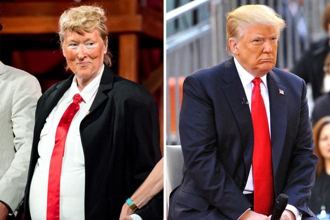 Donald Trump dau khau Meryl Streep anh 2