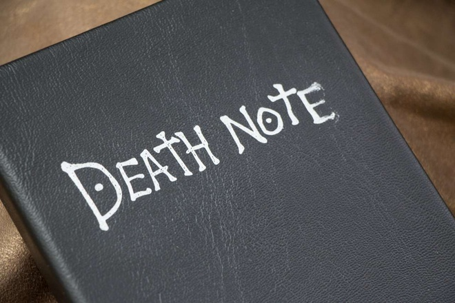Giao vien bi khien trach vi dung 'Death Note' doa hoc sinh hinh anh