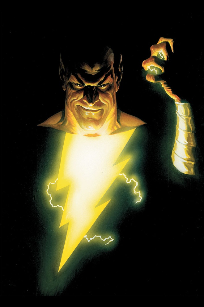The Rock trong vai Black Adam anh 2