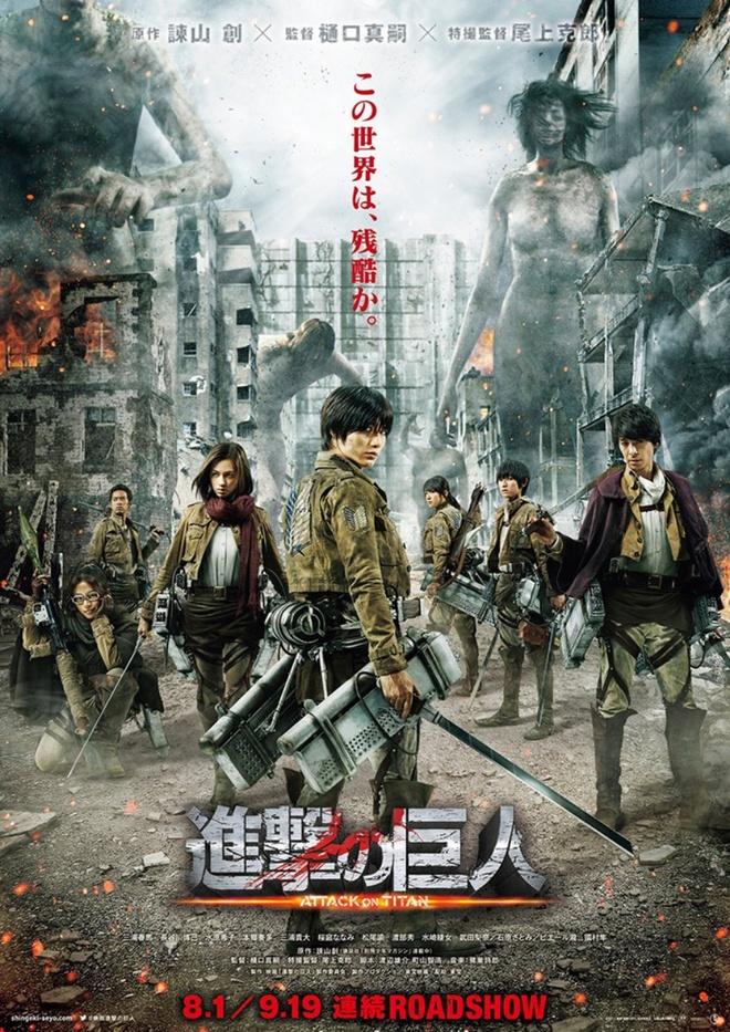 'Attack on Titan' bi ghet nhat trong cac phim dua tren manga hinh anh 1