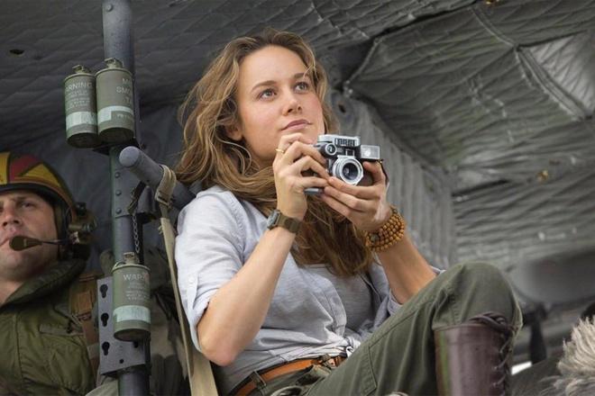 Brie Larson tu hao vi vai nha bao trong 'Kong: Skull Island' hinh anh