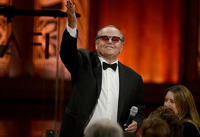 Huyen thoai Jack Nicholson tai xuat sau gan 10 nam nghi ngoi hinh anh