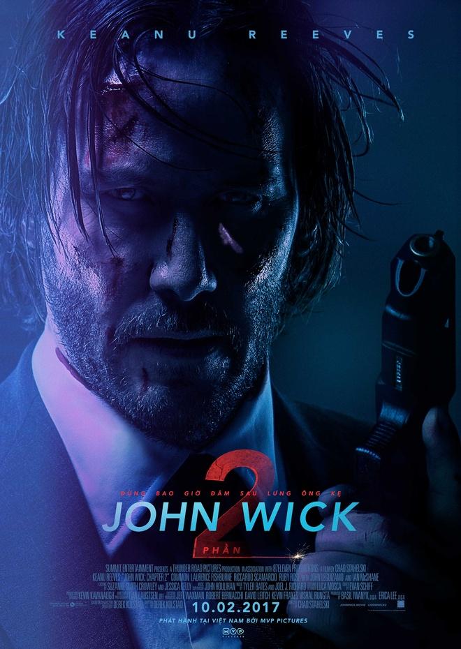 'John Wick 2': Hanh dong gay can, man nhan toi phut chot hinh anh 1