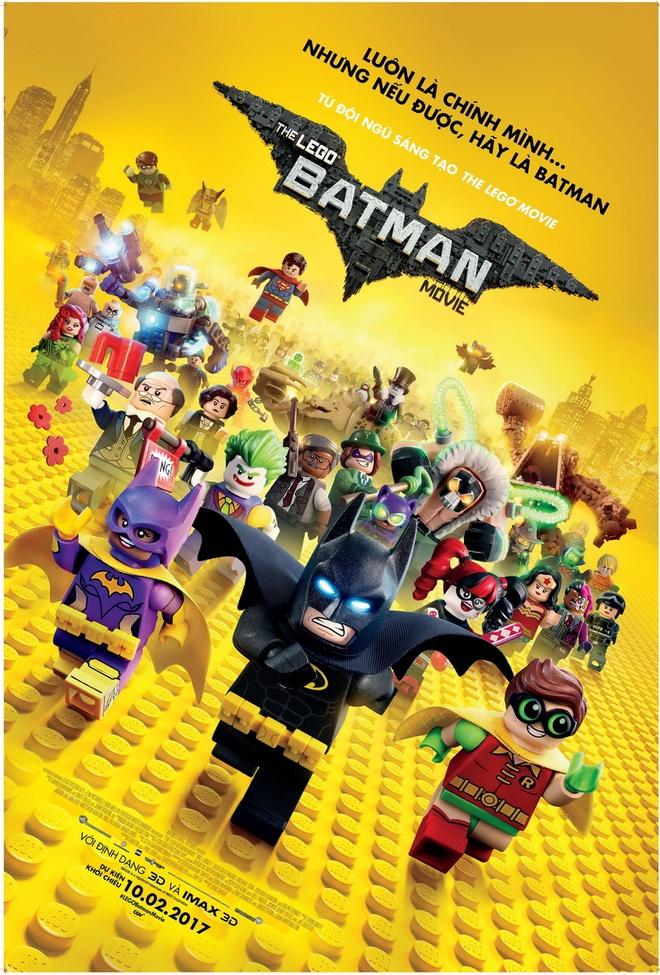'Lego Batman Movie': Mon qua tuyet voi tang fan Nguoi Doi hinh anh 1