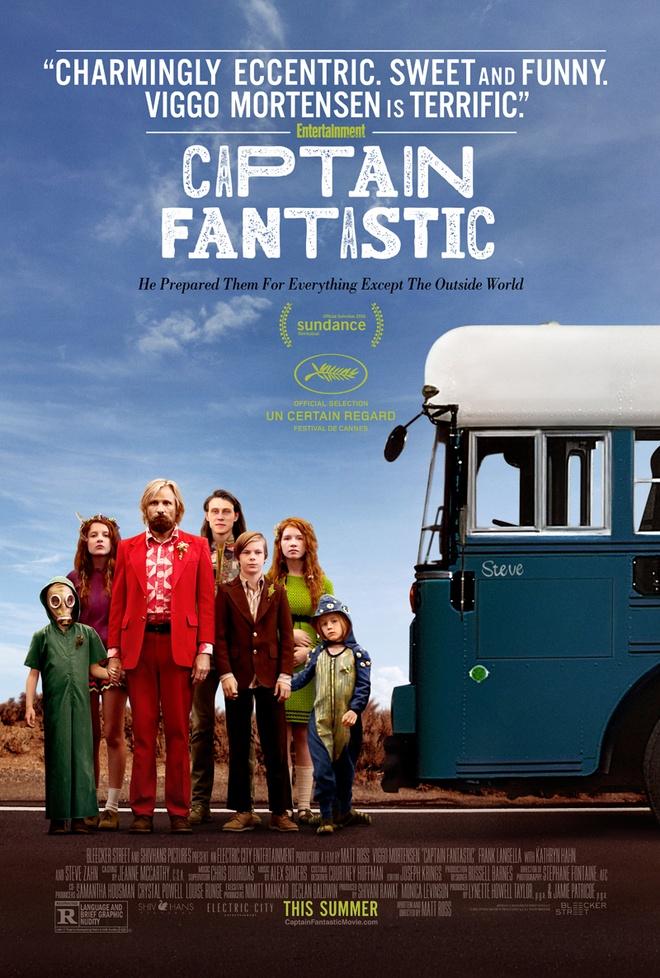 review phim Captain Fantastic anh 1