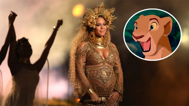 Beyonce dong Lion King anh 1
