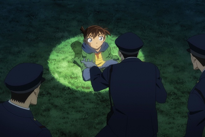 Phim 'Conan' moi ke lai su kien tham tu Shinichi bi thu nho hinh anh