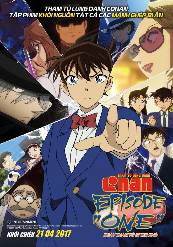 Phim 'Conan' moi ke lai su kien tham tu Shinichi bi thu nho hinh anh 1