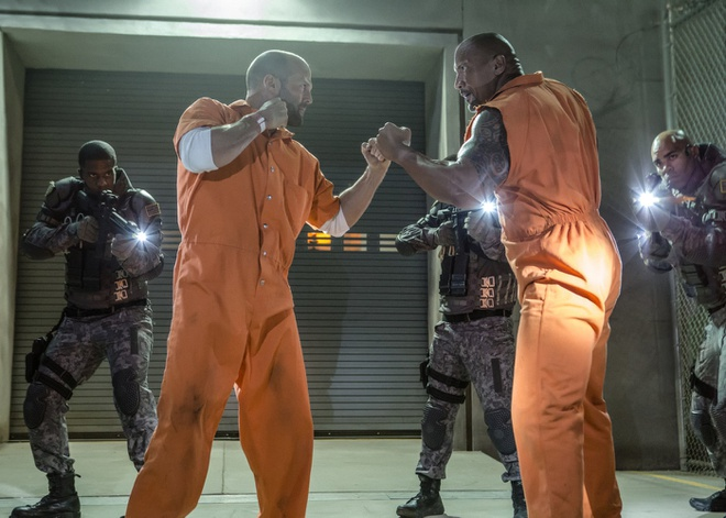 Jason Statham trong Fast & Furious anh 1