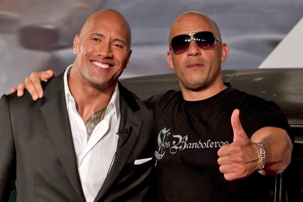 Lam hoa voi Vin Diesel, The Rock tham gia 'Fast & Furious 9' hinh anh 1