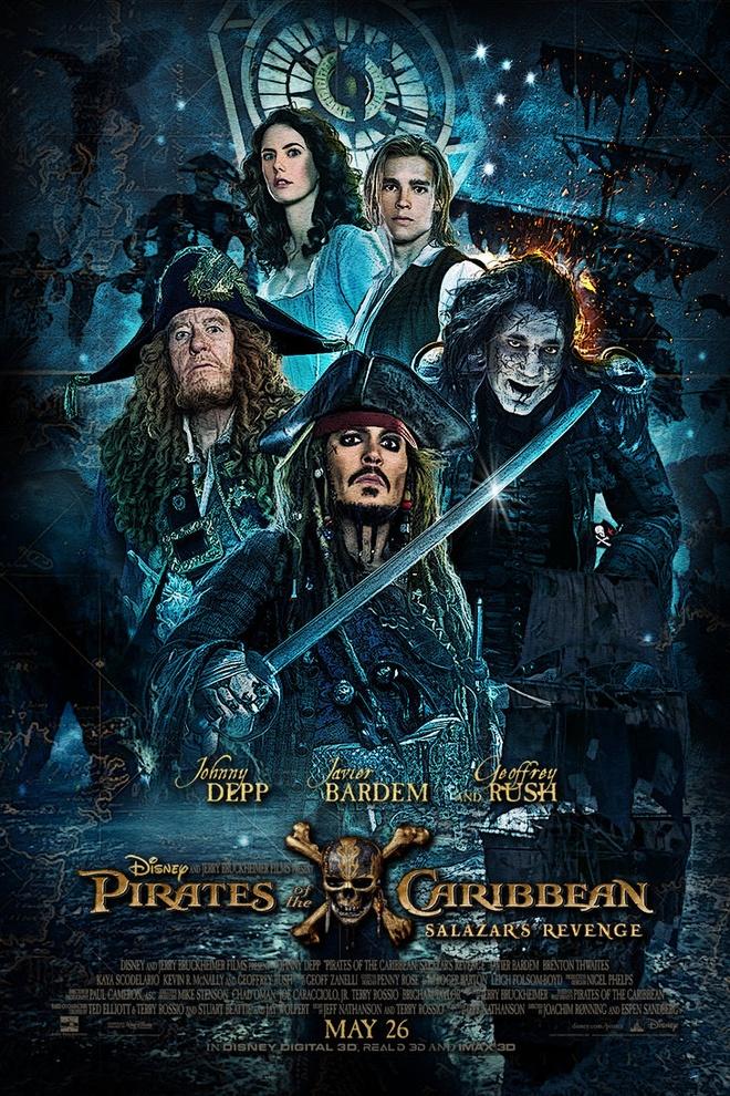 Johnny Depp la nguoi cho doi 'Cuop bien Caribbean 5' nhat hinh anh 1