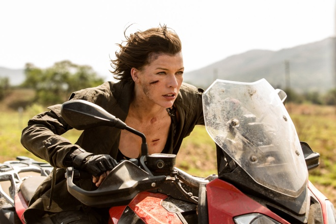 Milla Jovovich de dat ve ke hoach tai khoi dong 'Resident Evil' hinh anh 2