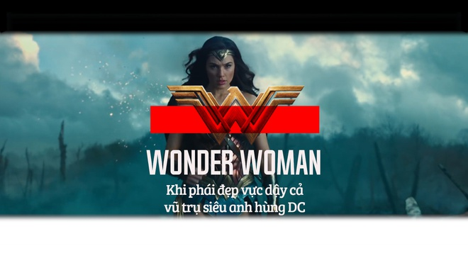 'Wonder Woman': Khi phai dep vuc day ca Vu tru sieu anh hung DC hinh anh