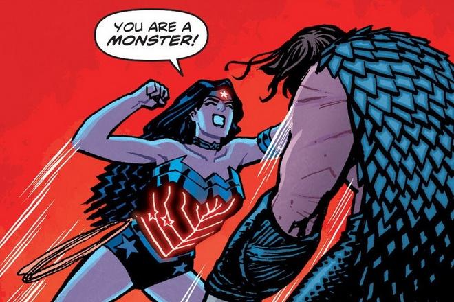 Khi sieu anh hung Wonder Woman tro nen tan nhan, doc ac hinh anh