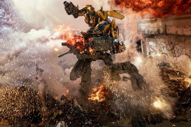 Bom tan 'Transformers 5' bi gioi phe binh che bai, khan gia My tho o hinh anh