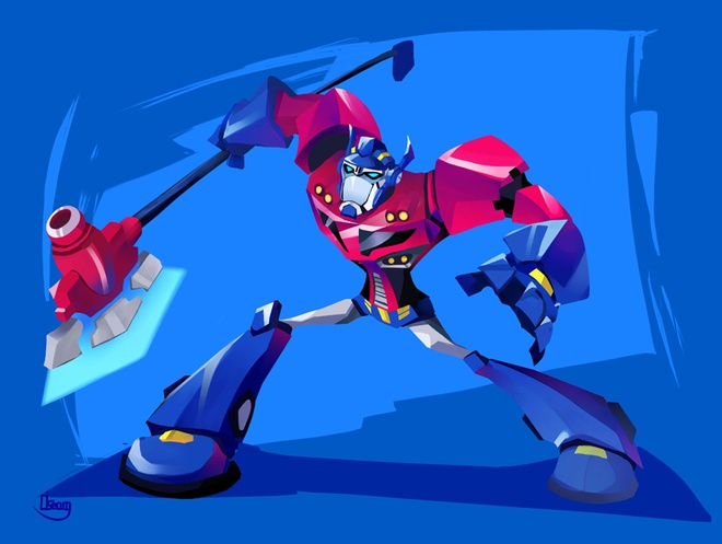 Nhung lan 'lot xac' cua nguoi may Optimus Prime thuoc 'Transformers' hinh anh 12