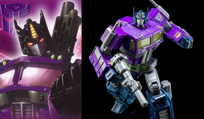 Nhung lan 'lot xac' cua nguoi may Optimus Prime thuoc 'Transformers' hinh anh 13