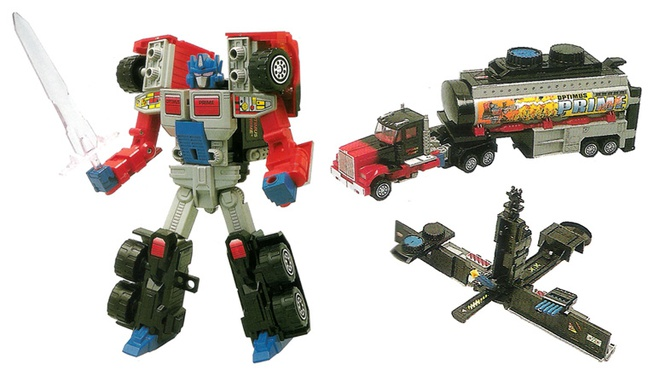 Nhung lan 'lot xac' cua nguoi may Optimus Prime thuoc 'Transformers' hinh anh 7