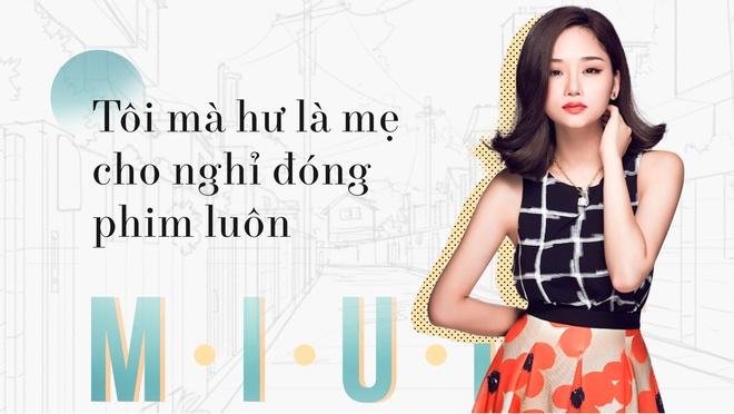 Miu Le: 'Toi ma hu la me cho nghi dong phim luon' hinh anh