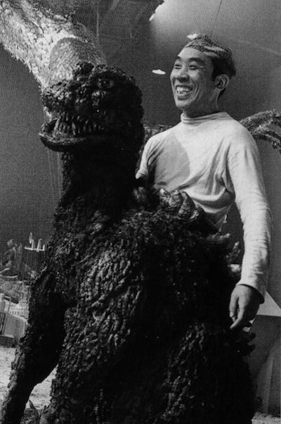 Tai tu Nhat Ban dau tien hoa trang thanh Godzilla qua doi hinh anh 1