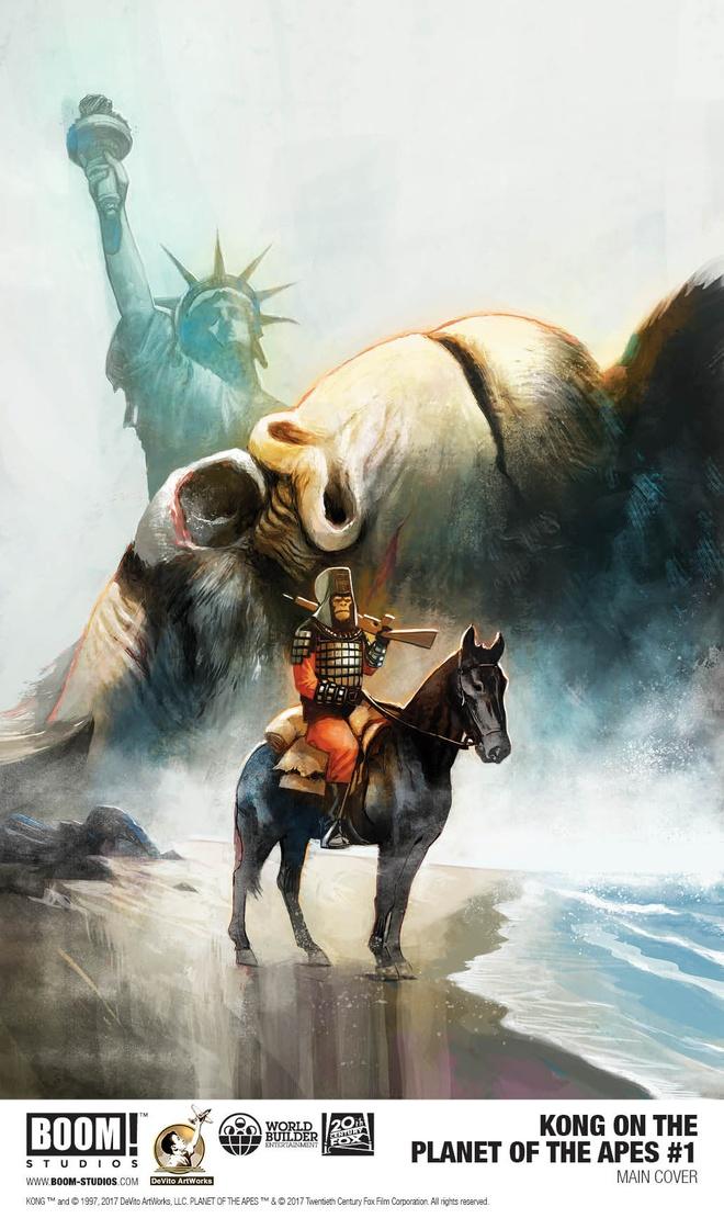 King Kong xuat hien trong truyen tranh moi cua 'Hanh tinh khi' hinh anh 1