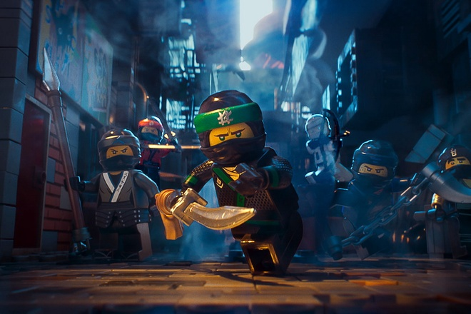'The LEGO Ninjago Movie': Su ket hop thu vi giua ninja va robot hinh anh