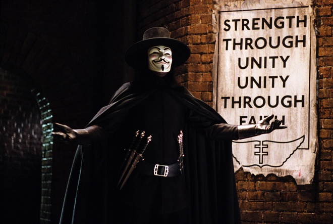 'V for Vendetta' co the duoc phat trien thanh phim truyen hinh hinh anh 1