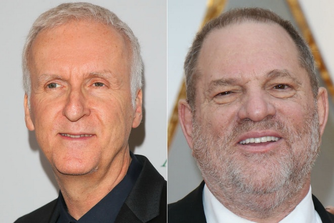 Tac gia 'Titanic' suyt danh ong trum dinh be boi sex Harvey Weinstein hinh anh